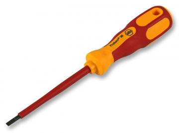 Wiha 3.5 x 100mm VDE Slotted Screwdriver