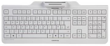 Cherry KC 1000 SC USB Wired Security Keyboard with Smartcard Terminal, Grey