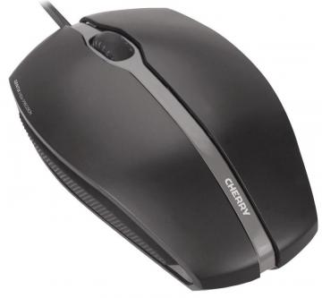 Cherry Gentix USB Optical Mouse 1000DPI, Black