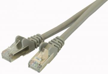 Belkin RJ45 M-M Snagless Cat6 STP Ethernet Patch Lead, 2m Grey