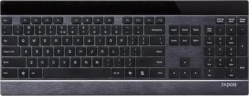 Rapoo E9270P 5GHz Wireless Ultra-slim Keyboard Black UK Layout