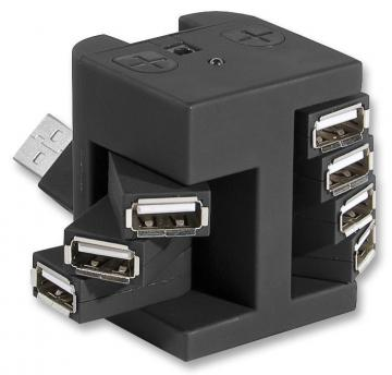 Pro Signal 7 Port USB 2.0 Ultra-Compact Hub - Bus Powered