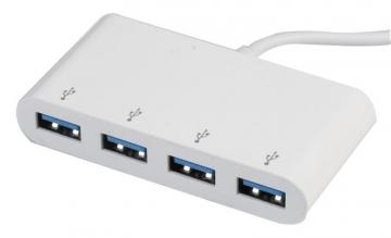 Pro Signal 4-Port USB 3.0 Hub - USB-C to 4x USB 3.0