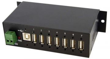 StarTech 7 Port Rugged Industrial USB Hub - Mountable Bus Powered