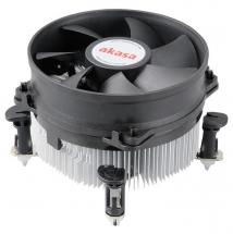 Akasa Intel Socket 775/115X CPU Cooler for Intel Core 2 Duo, Core i3 & i5 up to 77W