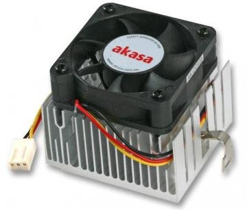 Akasa Intel Socket 370 / AMD Socket A CPU Cooler for AMD Athlon XP & Pentium 3
