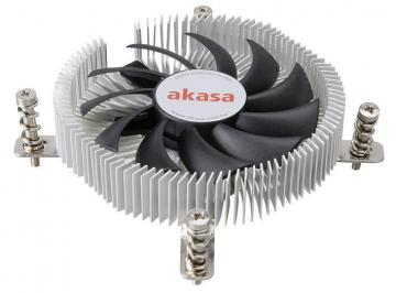 Akasa Intel Socket 775/115X Low Profile CPU Cooler for mini-ITX chassis