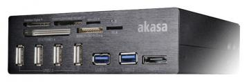 Akasa USB 3.0 Internal Hub & Memory Card Reader with eSATA / USB 2.0 Ports