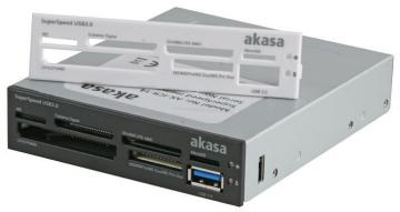 Akasa USB 3.0 Internal Memory Card Reader