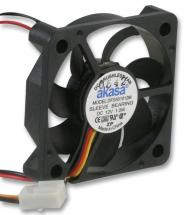 Akasa 12V DC 3 Pin Computer Case Fan - 50 x 50 x 10mm