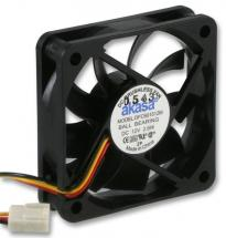 Akasa 12V DC 3 Pin Computer Case Fan - 60 x 60 x 15mm