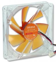Akasa Amber Series PC Case Fan - 120mm