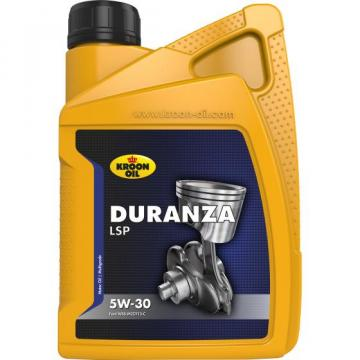 Kroon Motor Oil Bottle DURANZA LSP 5W-30