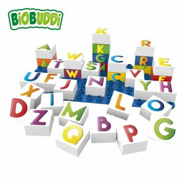 Biobuddi LEARNING LETTERS building blocks