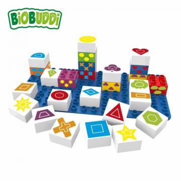 Biobuddi LEARNING SYMBOLS building blocks