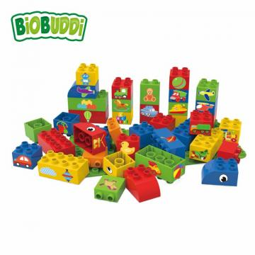 Biobuddi BLOCKS WITH BASEPLATE building blocks