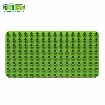 Biobuddi BASEPLATE GREEN building blocks