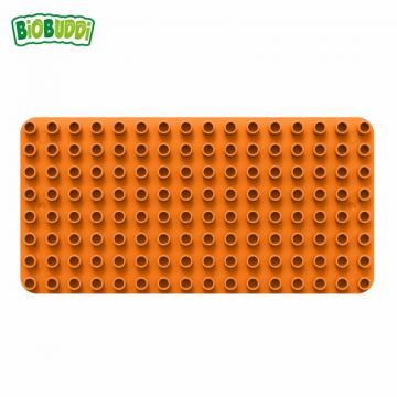 Biobuddi BASEPLATE ORANGE building blocks