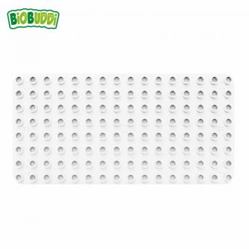 Biobuddi BASEPLATE WHITE building blocks