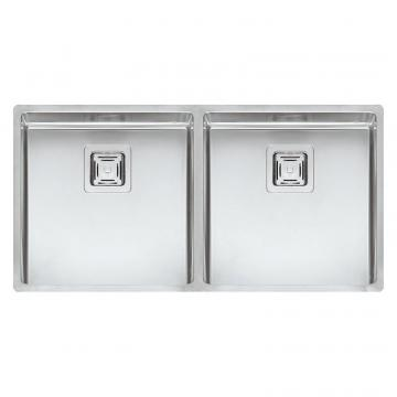 Reginox TEXAS 40X40+40X40 (L) R10 INTEGRATED Kitchen Sink
