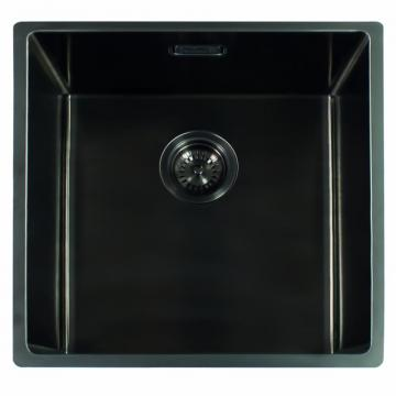 Reginox MIAMI 50X40 GUN METAL (L) INTEGRATED Kitchen Sink