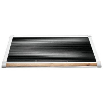 Rizz Doormat The new standard silver/teak