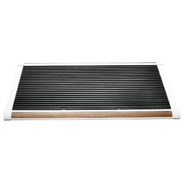Rizz Doormat The new standard white/teak
