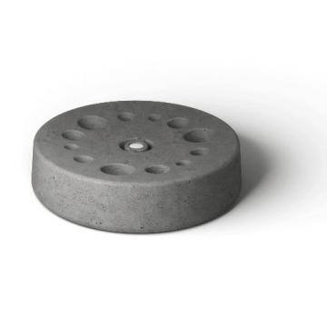 Rizz The Concrete Disc Umbrella stand grey