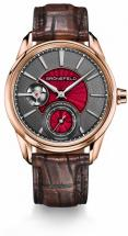Grönefeld Bespoke Guilloché & Enamel Red Gold Watch
