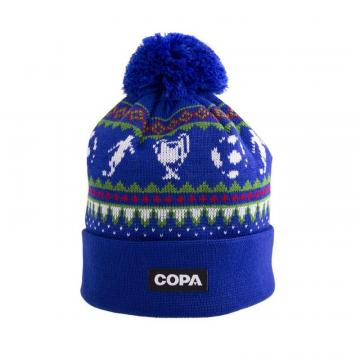 Copa Nordic Knit Beanie Blue/Red/Green/White
