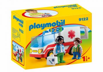 Playmobil 9122 Rescue Ambulance