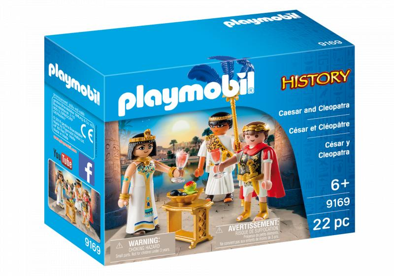 Playmobil 9169 Caesar and Cleopatra