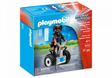 Playmobil 9212 Policeman with Balance Racer