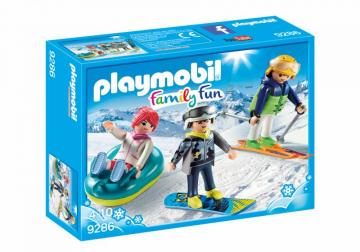 Playmobil 9286 Winter Sports Trio