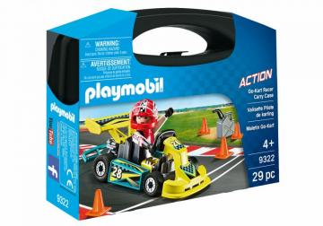 Playmobil 9322 Go-Kart Racer Carry Case