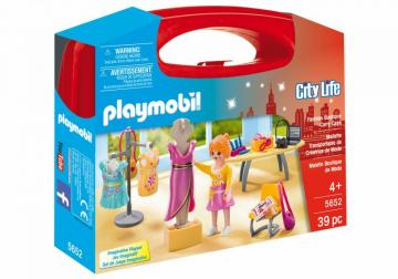 Playmobil 5652 Fashion Boutique Carry Case