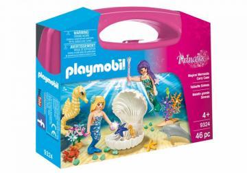Playmobil 9324 Magical Mermaids Carry Case