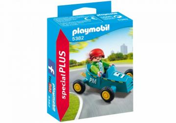 Playmobil 5382 Boy with Go-Kart