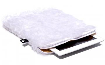 CoverBee White iPad Air Sleeve - Snow White