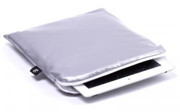 CoverBee iPad Air Sleeve Silver – Crystal Creation