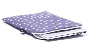 CoverBee Gray stars Laptop Sleeve - Stardust