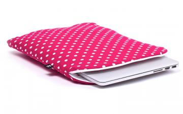 CoverBee Pinkish Red Laptop Sleeve