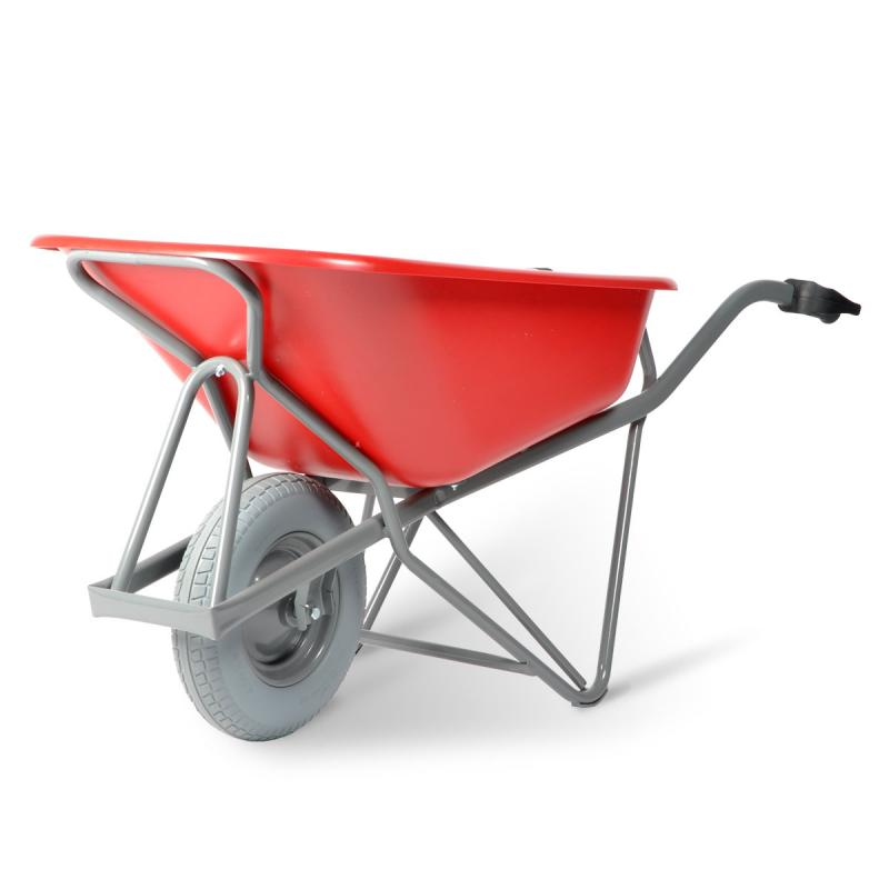 Matador M-151-ROOD CT Profi-Max Plus Wheelbarrow, HDPE-Tray