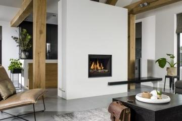 Belfires Smart Bell 65/60 Square gas fire