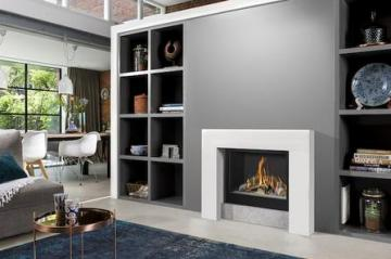 Belfires Smart Bell 80/70 Square gas fire