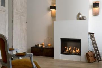 Belfires Derby S. 3 Square gas fire
