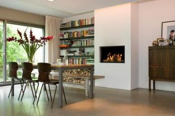 Belfires York S. 3 Square gas fire