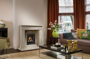Belfires Unica-2 40 Square gas fire