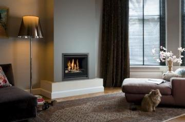 Belfires Unica-2 50 Square gas fire