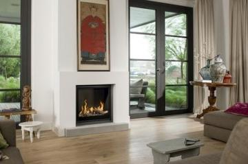 Belfires Unica-2 75 Square gas fire